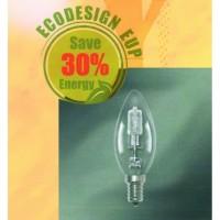 Λάμπα κερί ιωδίνης/ER E14